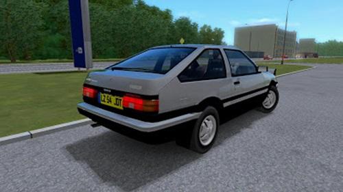 Toyota Corolla Trueno AE86 - 1