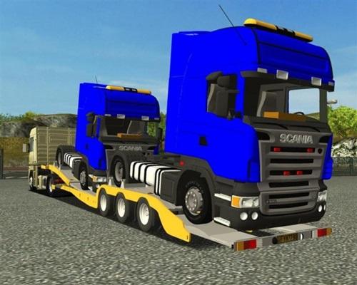 Truck-Scania-trailer