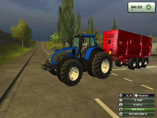 Valtra T162 Blue Tractor