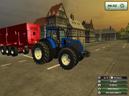 Valtra T162 Blue Tractorr