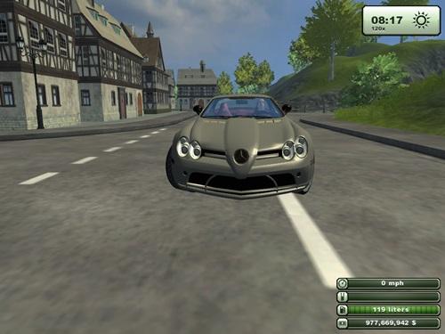Mercedes Benz McLaren SLR2