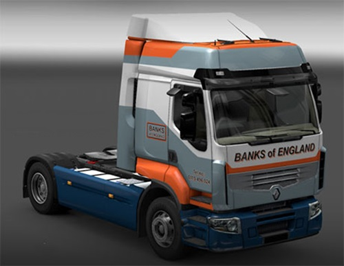 Renault Banks of England skin