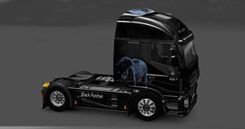 Iveco-Hi-Way-Black-Panther-Skin