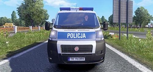 Traffic-Police-Car