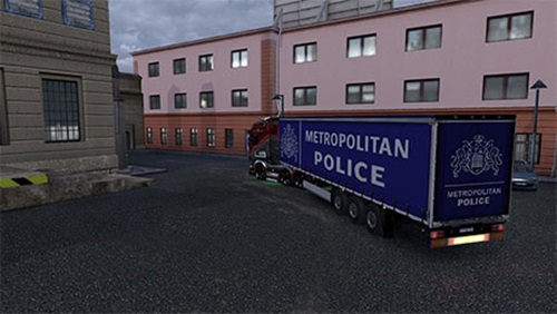 police-trailer