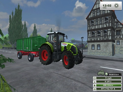 Claas Axion 820 FL3