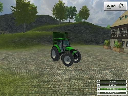 Deutz Agrotron K 1203