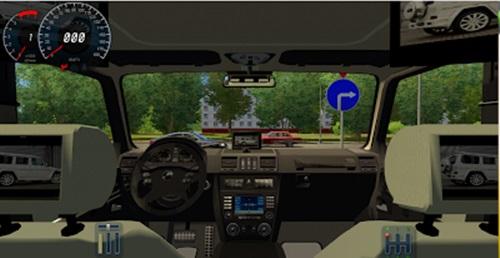 mercedes g500 interior