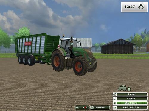 Fendt Vario 939 Dirt Tractor2