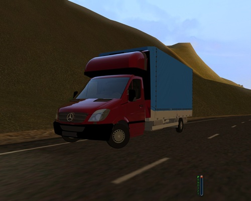 Mercedes-Benz Sprinter 518 Cargo 1