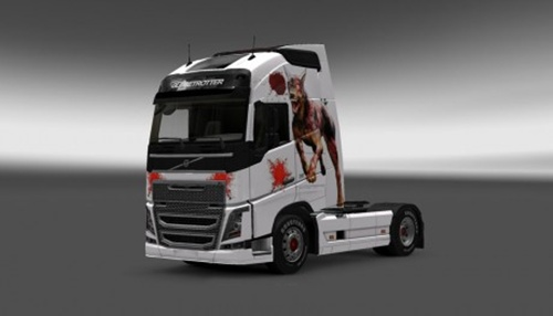 Volvo-FH-2012-Zombie-Skin-