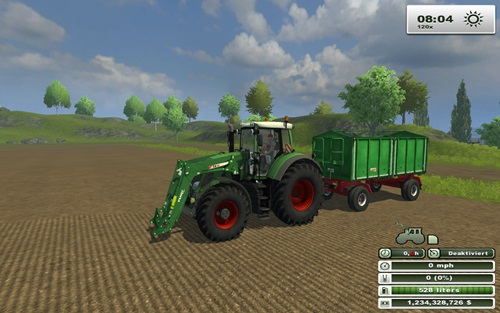 Fendt828FLUnpack