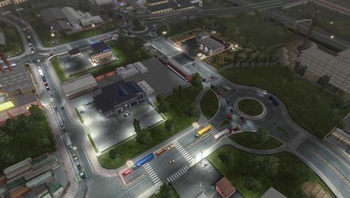 Increased traffic density