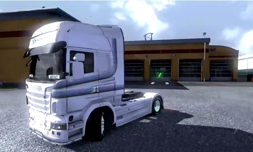 Mercedes Benz ACTROS MP4 -- Maersk Skin RevelationWH