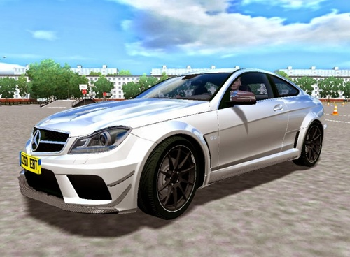 Mercedes-Benz C63 AMG Black Series - 1