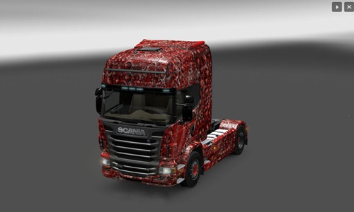 Scania Coca Cola Bubbles Skin