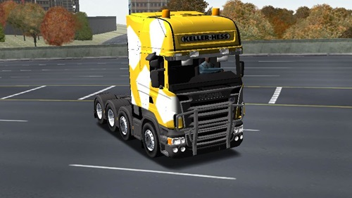 scania para 18 wheels of steel haulin