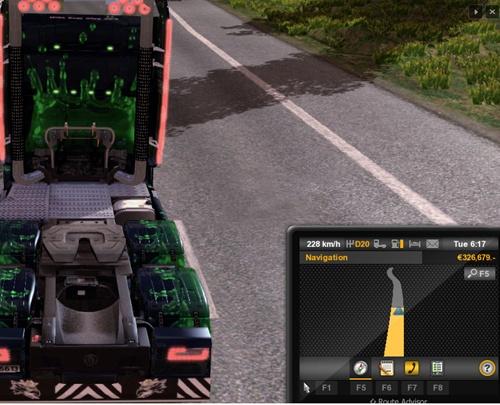 Scania Streamline 230Kmh
