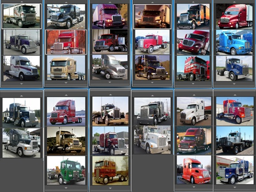 Truck Icons Pack