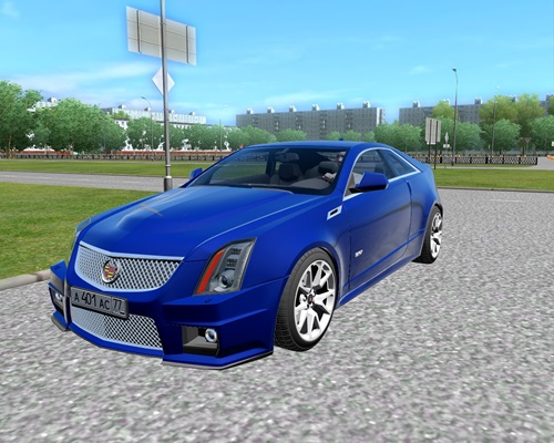 Cadillac Cts V Coupe 1 3 3 Simulator Games Mods Download