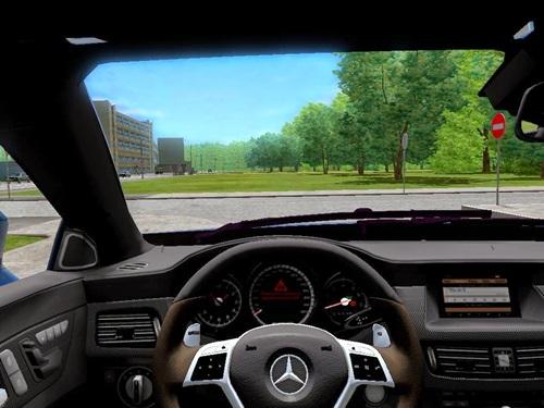 Mercedes benz cls63 amg 2012 1 3 3 simulator games for Mercedes benz car racing games