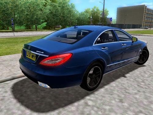 Mercedes-Benz, CLS63 AMG 2012 - 1