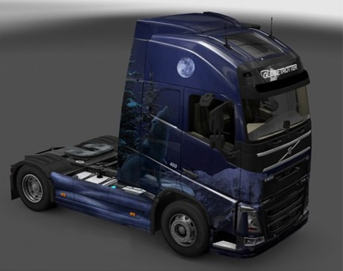 Volvo-FH-2012-Winter-Wolves-Skin-1