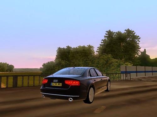 Audi A8 4 2 L FSI Quattro - 1 2 2 | Simulator Games Mods Download