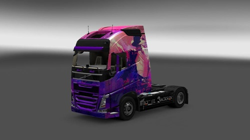 Volvo-FH-2012-Michael-Jackson-Skin-1