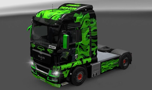 MAN-TGX-Green-Dragon-Skin-1