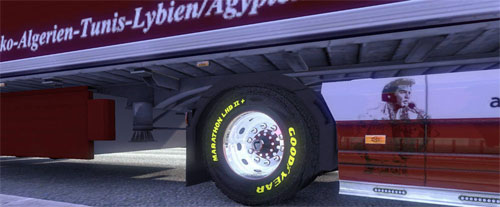 Scania Goodyear Wheels Tuning Mod