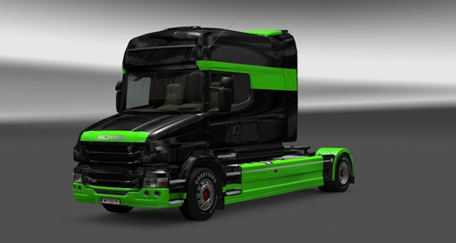 Scania-T-Black-Green-Skin