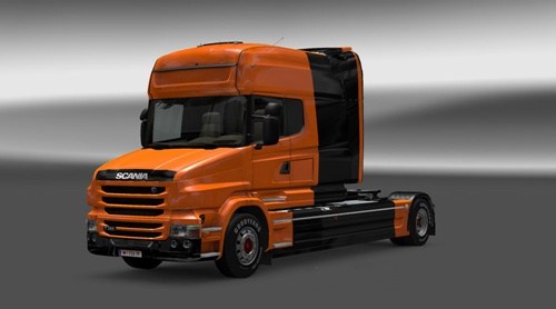 Scania-T-Black-Orange-Skin