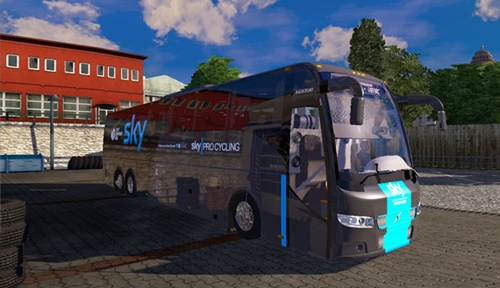 Volvo 9700 Luxury Bus | Simulator Games Mods Download