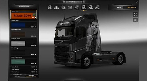 Volvo FH 2012 Tumblr Girl Skin