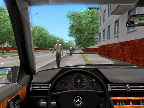 Mercedes benz w124 sw 1 3 3 simulator games mods download for Mercedes benz car racing games