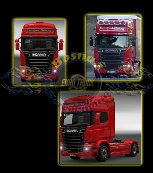 Streamline Eurosped-Herceg Truck Skin
