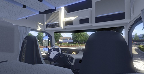 [MOD-ETS2] Seat adjustment no limits