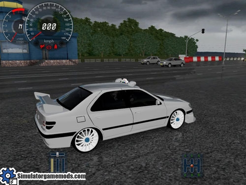 peugeout406_taxi