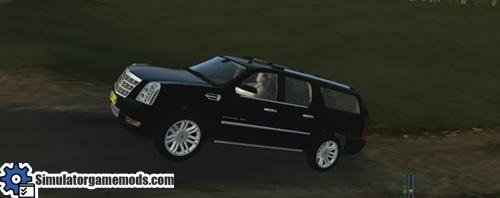 Cadillac-Escalde-4X4 SUV