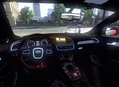 Ets 2 Audi Rs4 Car Mod Download Simulator Games Mods Download