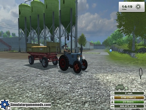Lanz-tractor