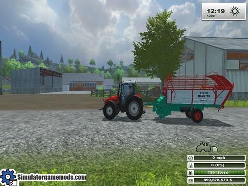 Steyr_Hamster_8025_Ladewagen