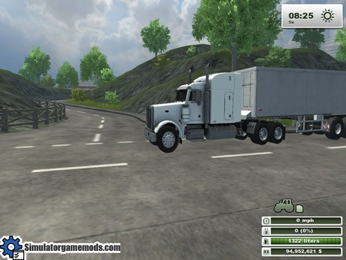 peterbilt_white_truck