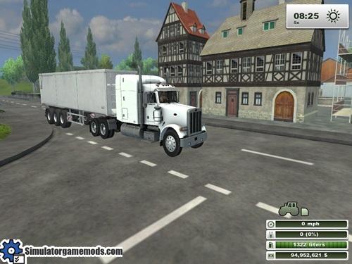 peterbilt_white_truck_