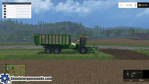 FS 2015 - Krone BIG L-500 Prototype Harvester Pack