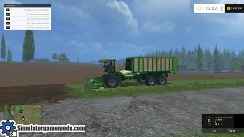 FS15-Krone BIG L-500 Prototype Harvester Pack