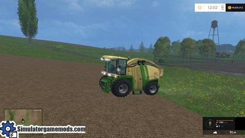 KroneBigX110030K-harvester