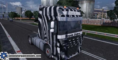 daf-xf-zebra-truck-skin