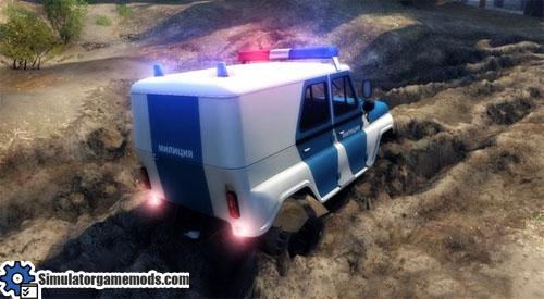 uaz-police-car